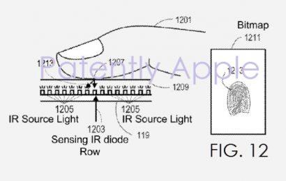 آبل: براءة اختراع لشاشة الآيفون