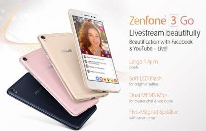 توقعات بالكشف عن هاتف Zenfone 3 Go في MWC 2017