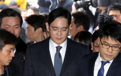 اعتقال ابن رئيس Samsung بتهمة الرشوة والاختلاس