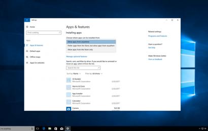 Microsoft تختبر خاصية لمنع تثبيت البرامج في ويندوز 10 من خارج متجرها الرسمي