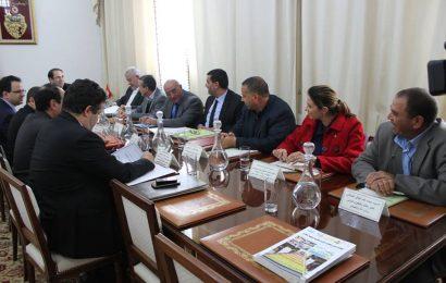 قرارات اللجنة المشتركة 5 زائد 5 بين وفد من الحكومة ووفد عن الاتحاد التونسي للفلاحة والصيد البحري
