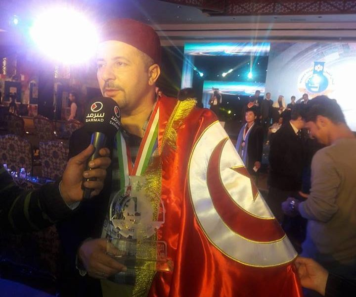 الميدالية الذهبية للمهندس الشاب سامي القطاري