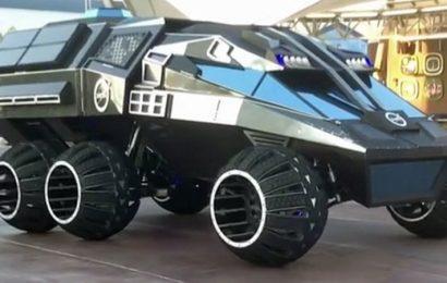النموذج الأولي لمركبة ناسا المريخية