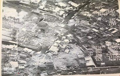 ورحل شاهد اخر على الحضارة الاسلامية، بعد قصف المنارة الحدباء