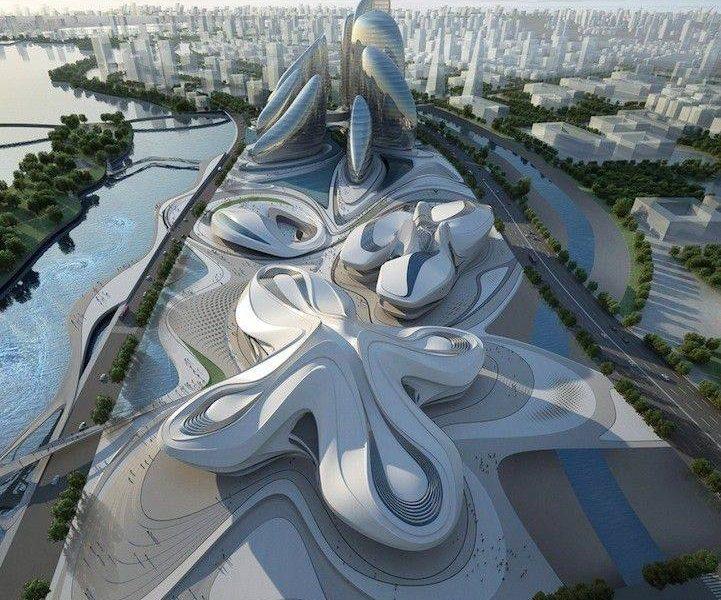 تصميم معماري مدهش لمركز الثقافة في اليابان
