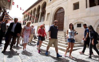 إقبال السياح على تونس