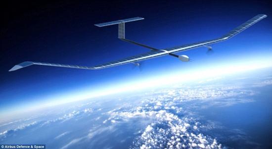 إيرباص تكشف عن طائرة بدون طيار تعمل بالطاقة الشمسية وتحلق لمدة 45 يوما