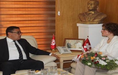 الغرفة التجارية السويسرية التونسية  تسعى  إلى  احداث مجالات استثمار جديدة بالمنستير