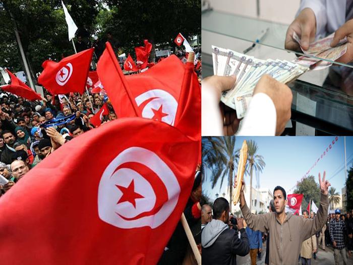 """تونس اليوم : 900 ألف """"بطال"""" صامت و 600 ألف عامل في الدولة يطالب بالزيادة !"""