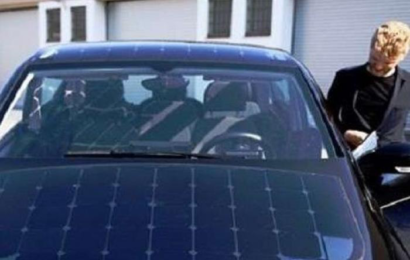 إطلاق أول سيارة تعمل بالطاقة الشمسية بألمانيا