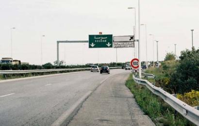 إدارة المرور تحذّر مستعملي الطريق السيارة تونس-سوسة