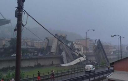 إيطاليا: مقتل وجرح العشرات في إنهيار أحد الجسور بمدينة جنوة