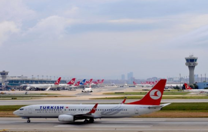 اصطدام طائرة مغربية بأخرى تركية في مطار أتاتورك