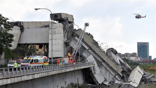 لهذه الأسباب انهار جسر جنوى