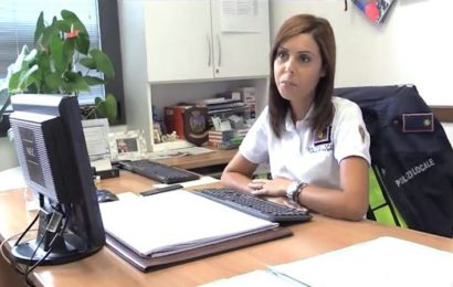 التونسية بسمة بوزيد أول امرأة عربية تقود مركز للشرطة الإيطالية