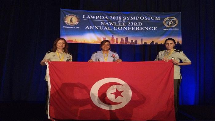 تكريم 5 قيادات نسائية أمنية تونسية في أمريكا
