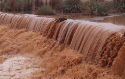 فيضانات كبيرة  ومدمرة تجتاح دولة  إيران