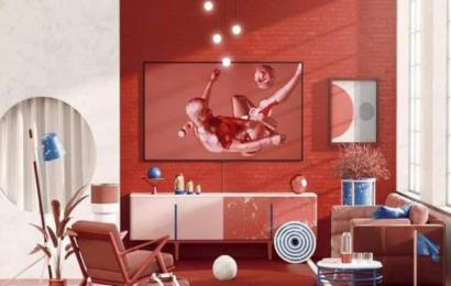 """جديد سامسونغ : تلفاز بخاصية """"الحرباء"""""""