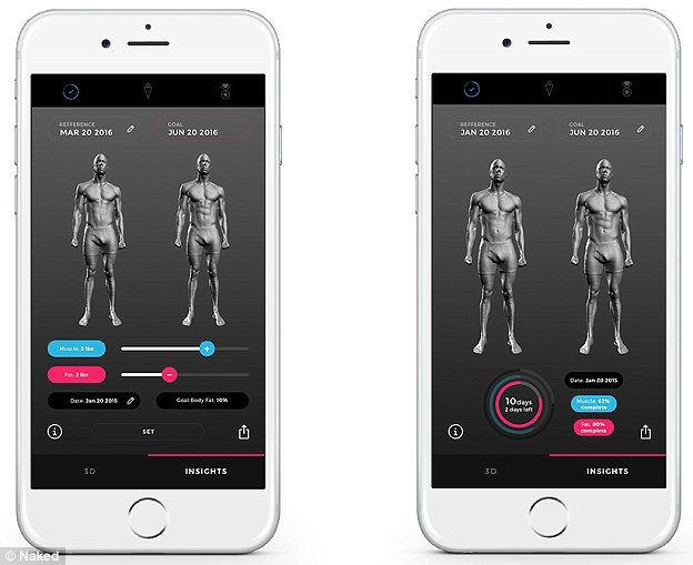 مرآة ذكية تلتقط صور 3D لجسمك لتتبع وزنك ولياقتك وتغيرات جسدك