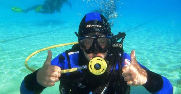 ملابس للتنفس تحت الماء مستوحاة من جلود الحشرات!
