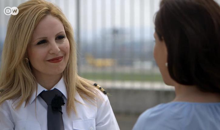 هيدا عبد النبي من مهندسة فضاء الى اول قائدة طائرة ركاب في المانيا