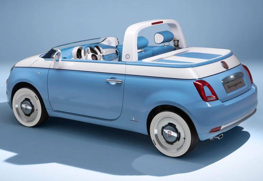 سيارة فيات 500 spiaggina بمناسبة مرور 60 عاماً