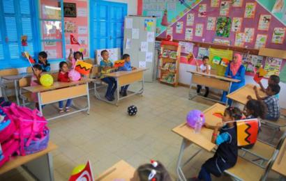 التجاري بنك يحول مدرسة في منطقة نائية بنفزة إلى أجمل المدارس