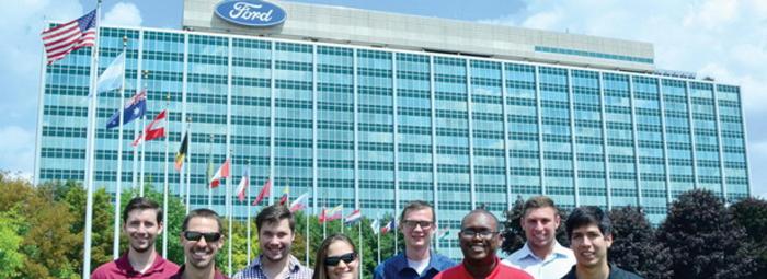 تدريب عملي في شركة فورد لمهندسي التصنيع في الولايات المتحدة 2018
