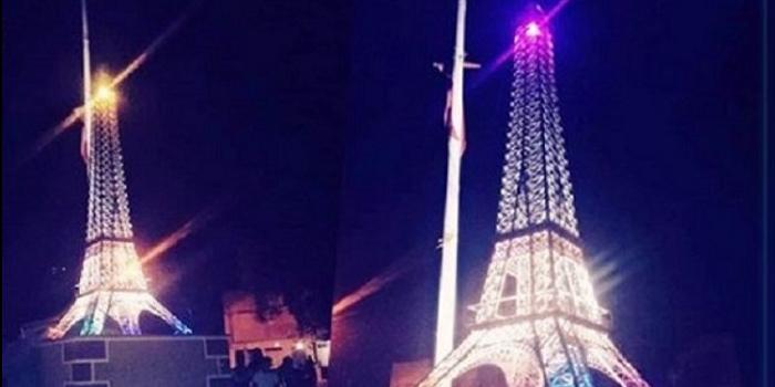برج إيفل الباريسي بمدينة الردّيف