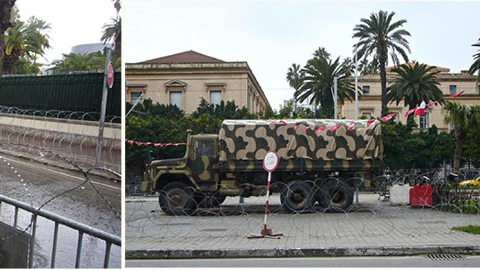 سحب القوات العسكرية من امام السفارة الفرنسية بالعاصمة
