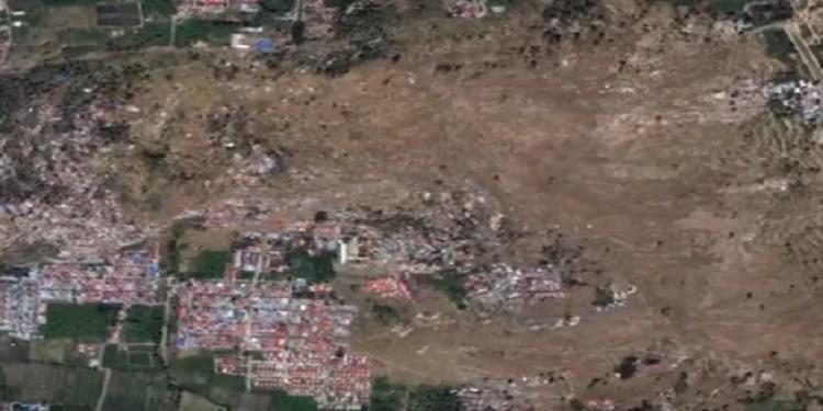 أندونيسيا: الزلزال يحول الأرض إلى سائل يبتلع المنازل