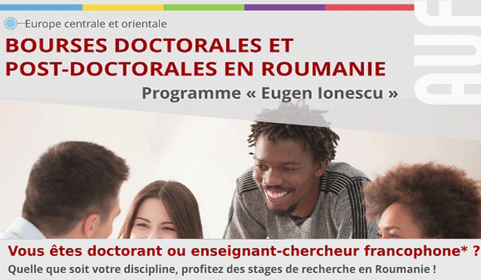 وزارة التعليم العالي والبحث العلمي : الترشح لبرنامج المنح الدراسية Eugen lonescu