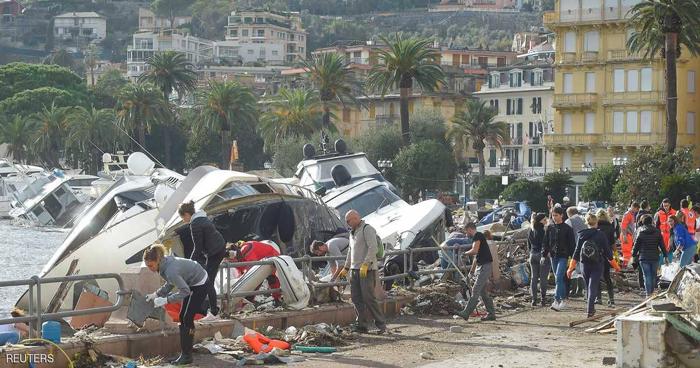 عواصف تضرب ايطاليا وتخلف ثلاثة قتلى