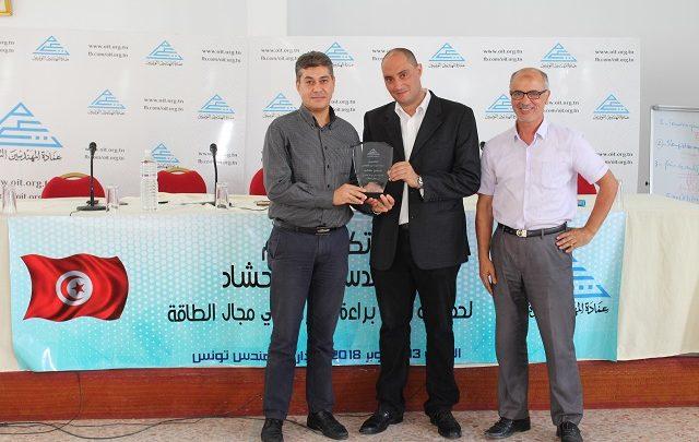 عمادة المهندسين تُكرّم المهندس حمدي حشاد المتحصل على براءة إختراع