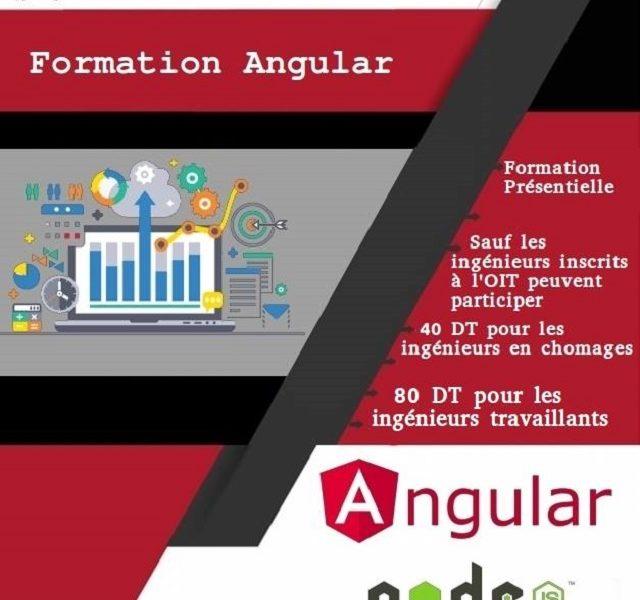 مدنين: دورة تكوينية في Angular Node JS
