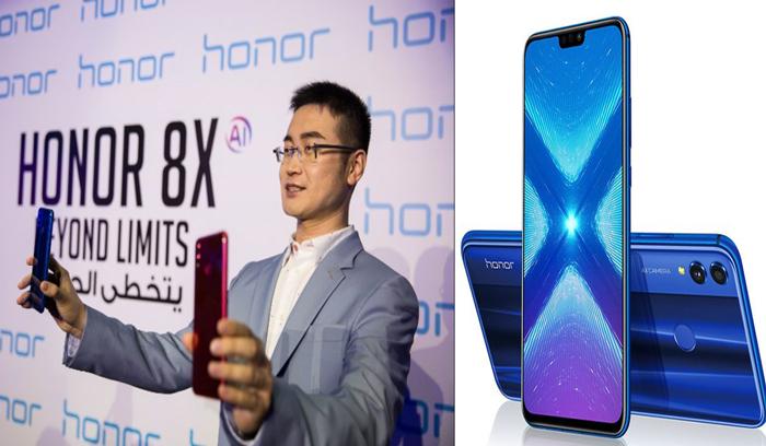 هونر تكشف عن مواصفات ومزايا تنافسية لهاتفها الذكي  Honor 8X