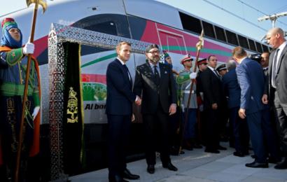 المغرب تدشن أسرع قطار في إفريقيا