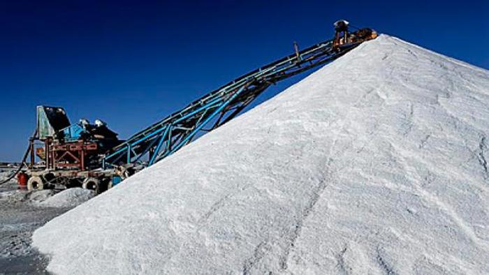 بيع الملح للشركات الفرنسية بأسعار دون المستوى