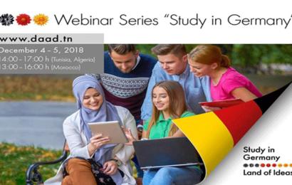 ندوة إفتراضية عبر الأنترنات حول الدراسة في ألمانيا