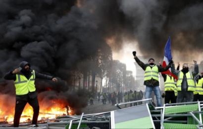 فرنسا: عشرات الموقوفين إزاء الإحتجاجات