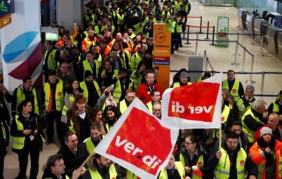ألمانيا: إضرابات في بعض المطارات وإلغاء أكثر من 600 رحلة