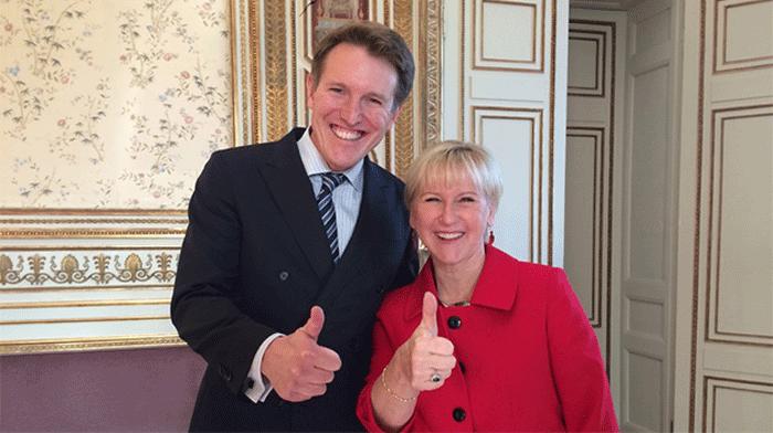 نأمل في تشكيل حكومة تونسية نصفها نساء :  سفير السويد لتونس
