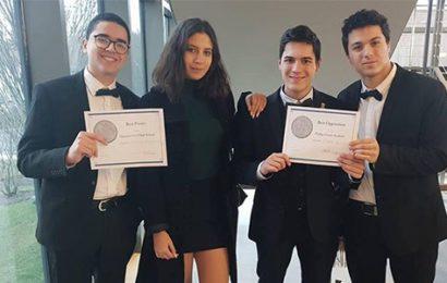 تلامذة من المعهد النموذجي بتونس يتوجون بثلاث جوائز بمسابقة الفيزيائيين الشبان بالولايات المتحدة الامركية