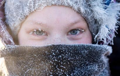 50 درجة تحت الصفر غرب كندا