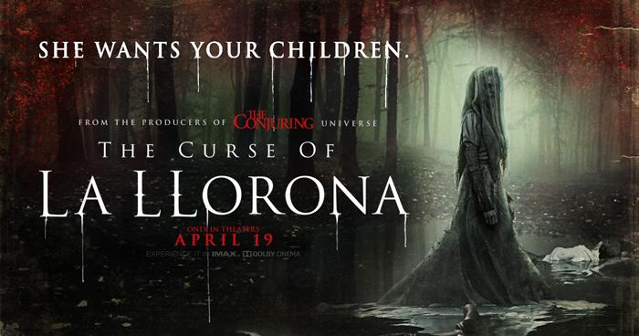 فيلم الرعب THE CURSE OF LA LLORONA يحقق 12 مليون دولار في يومين!