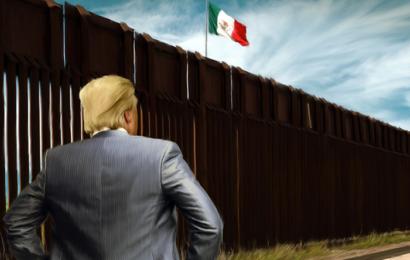 """تخصيص ميزانية ضخمة لبناء """"جدار ترامب"""" على حدوده مع المكسيك"""