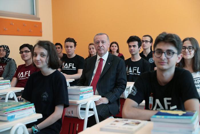 أردوغان: رفعنا ميزانية التعليم من 7.5 مليار إلى 114 مليار ليرة
