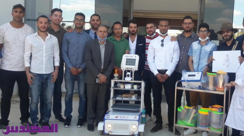 """في إطار مجابهة كورونا: مهندسون يسلمون """"روبوتات"""" لمستشفى جندوبة"""