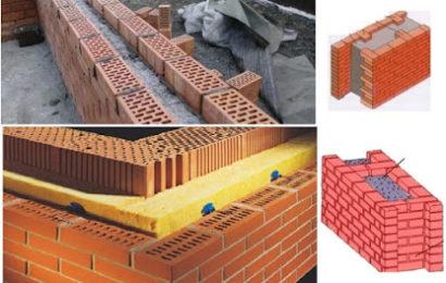 هكذا يتم بناء الجدران العازلة و مواد تنفيذها