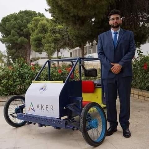 رسلان الحمامي مخترع أوّل سيّارة تعمل بالضغط الهوائي